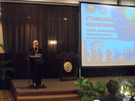 Liputan: 6th Annual Indonesia Occupational Medicine Conference 2012