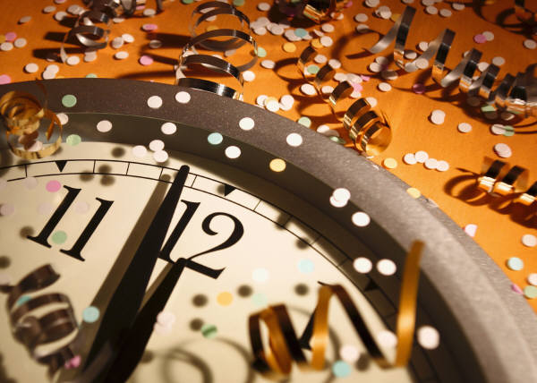 new-years-clock