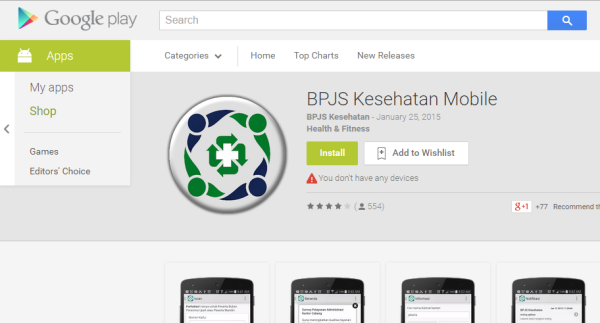 BPJS mobile apps