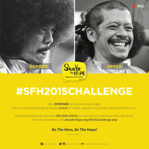 Shave For Hope 2015